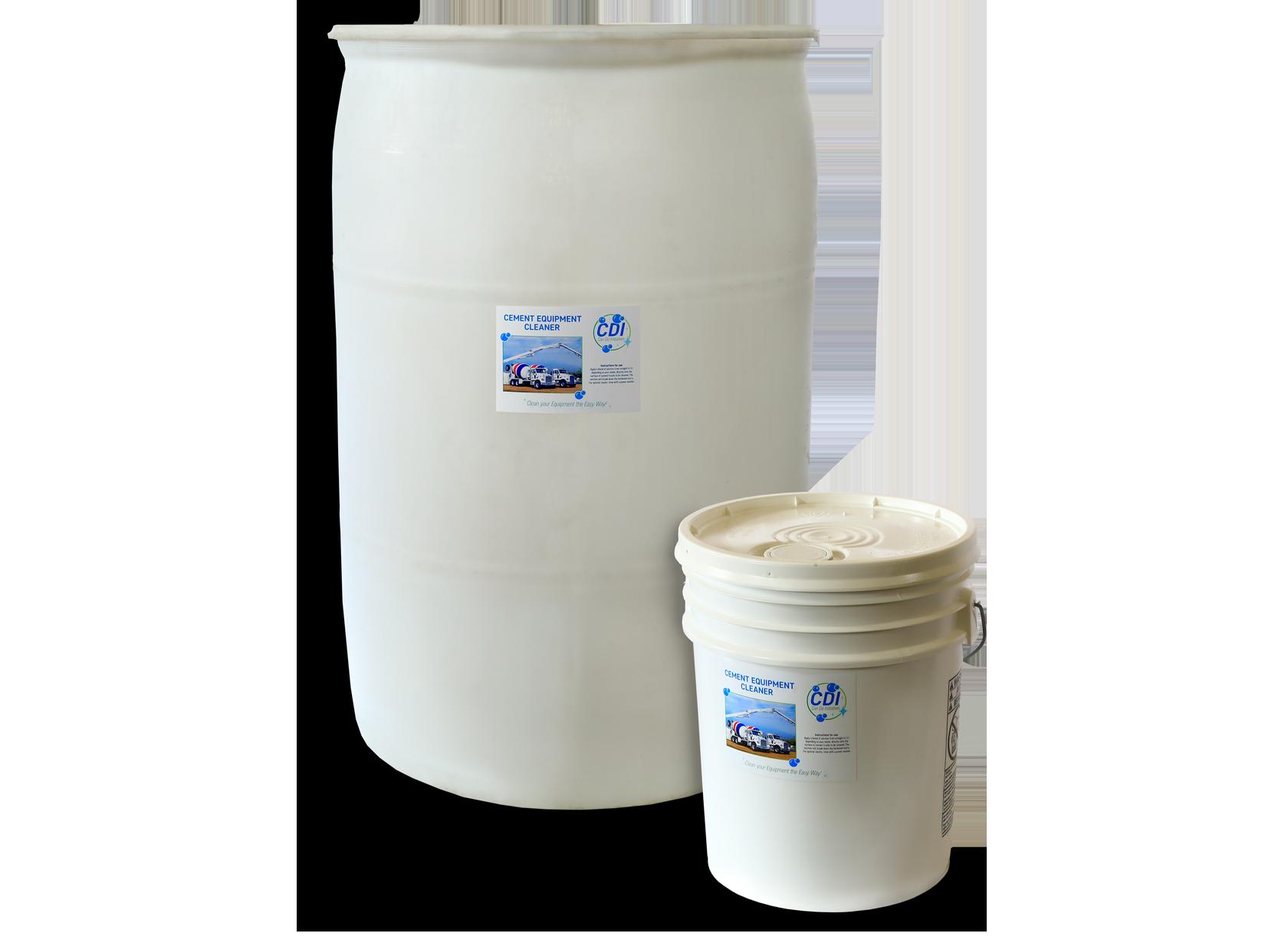 Cement Equipment Cleaner - 5 Gallon, 55 Gallon