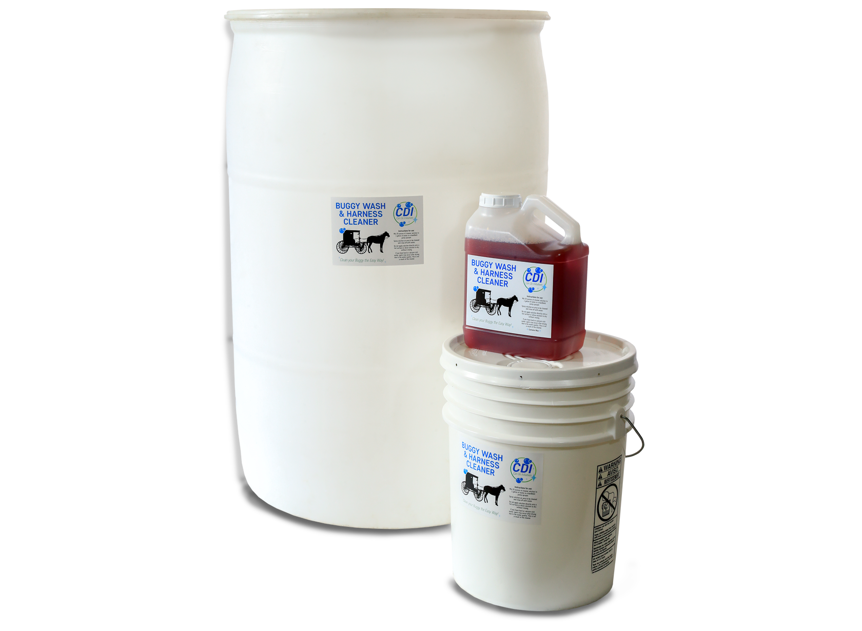 Buggy Wash & Harness Cleaner - 1 Gallon, 5 Gallon, 55 Gallon