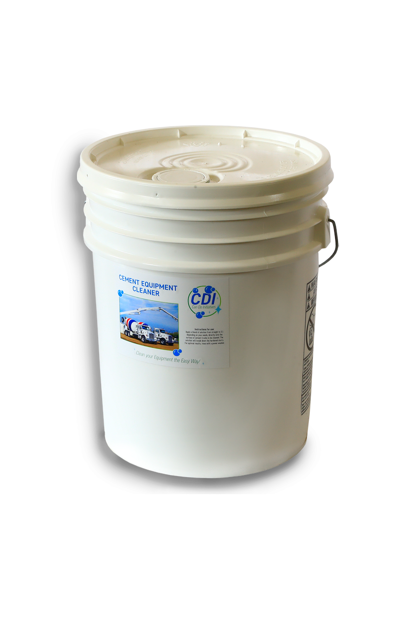 5 Gallons Cement Equipment Cleaner